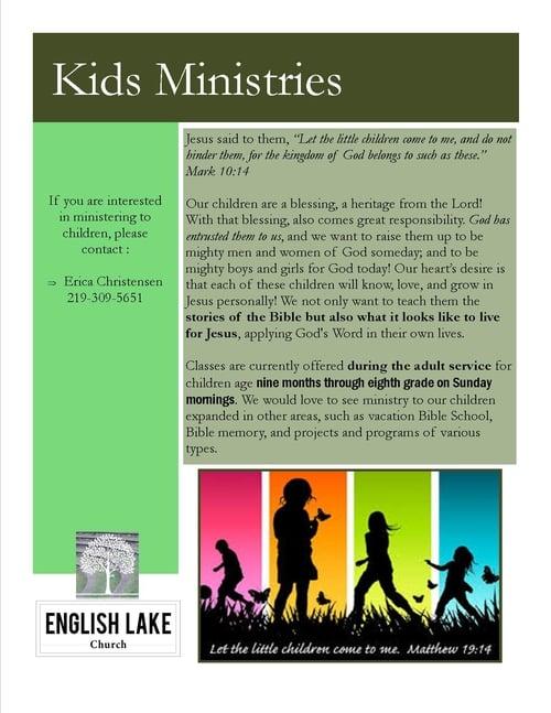 Kids Ministries
