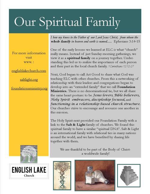 Our Spiritual Family